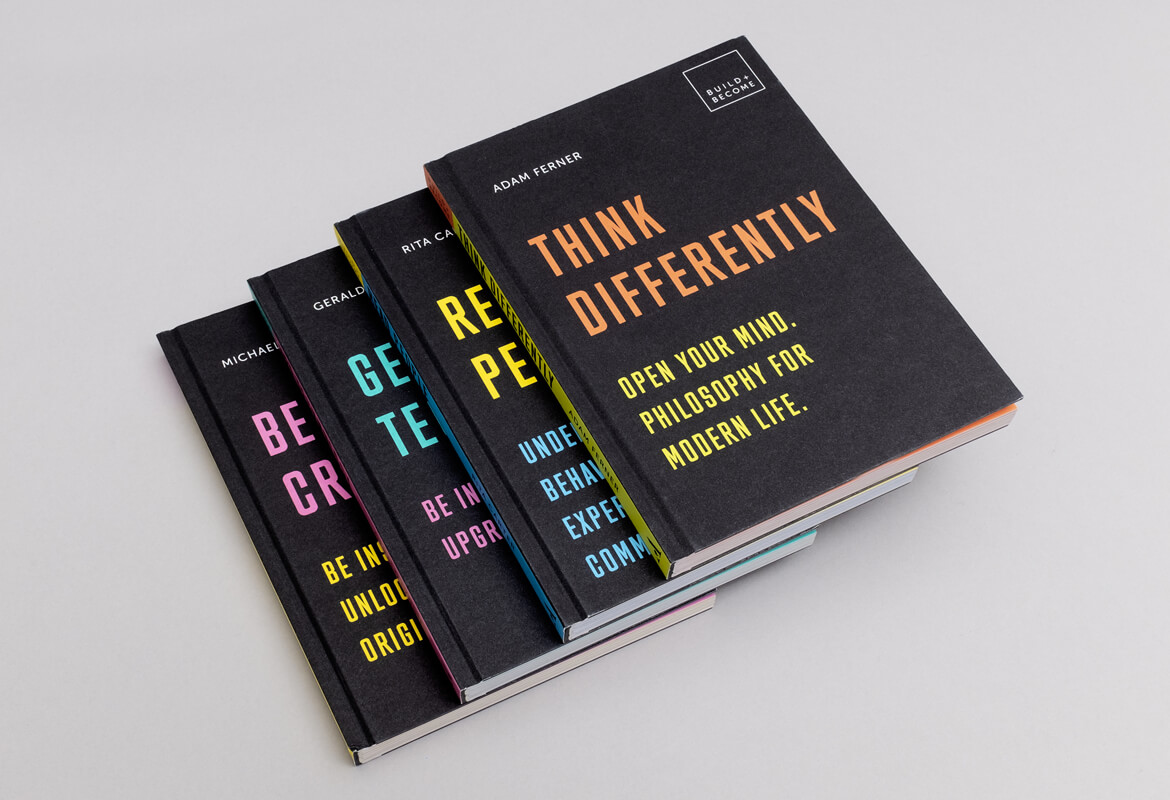 Quarto Publishing. Build+Become Book Series